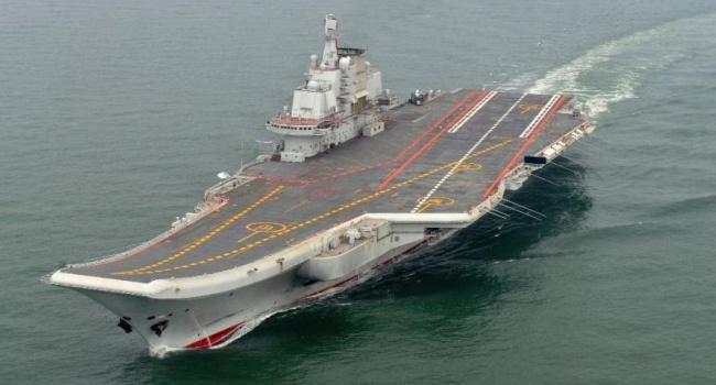 Первый авианосец Китая был построен в Украине, - Foxnews