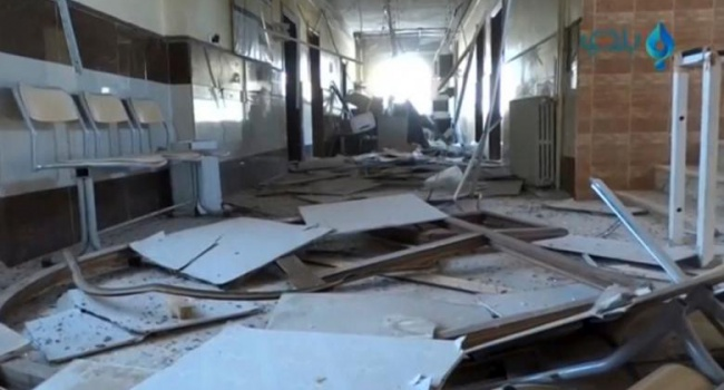 В результате российских бомбардировок в Восточном Алеппо разрушены все больницы