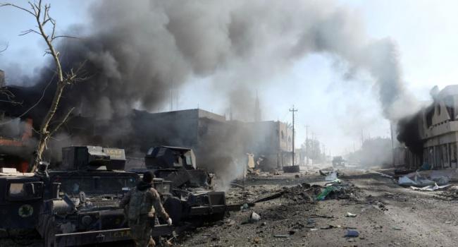 Іракські війська зіткнулись з опором під Мосулом