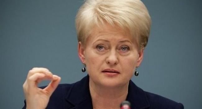 Грибаускайте: Литва готова ковсему состороны РФ