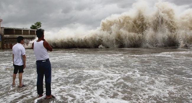 На Японию обрушились цунами