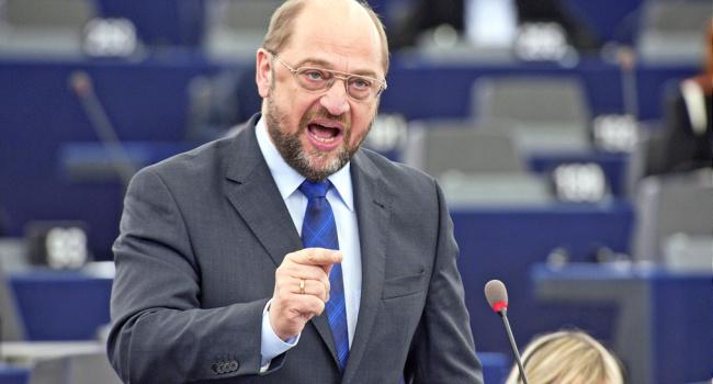 Руководитель Европарламента Шульц хочет объявить обуходе споста