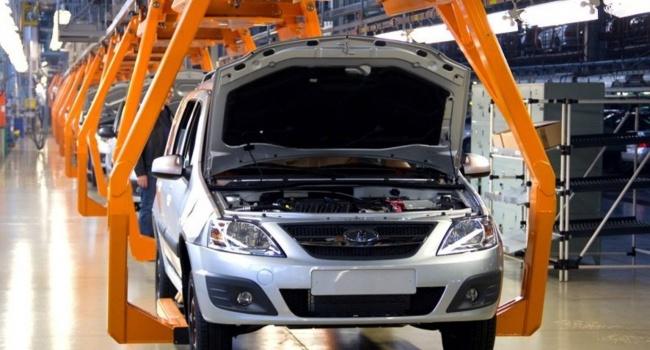 Волжский автомобильный завод остановил поставки авто украинским представителям