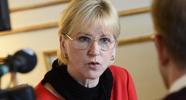 Руководитель МИД Швеции прибыла встолицу Украинского государства