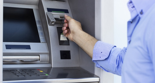 Вгосударстве Украина  проблемы сполучением наличных вбанкоматах