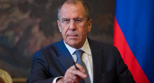 Лавров потребовал от столицы Украины прямых переговоров сбоевиками поДонбассу