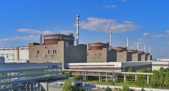 Четвертый энергоблок отключен на Запорожской АЭС