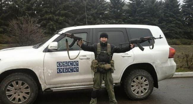 ВОБСЕ сказали обинциденте свооруженными россиянами наДонбассе