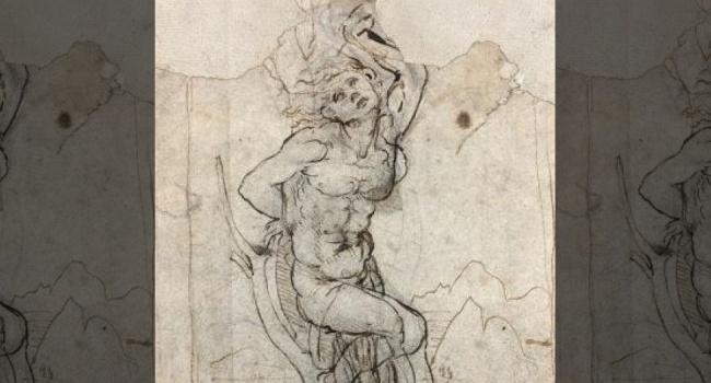 Встолице франции случайно найден неизвестный эскиз Леонардо даВинчи