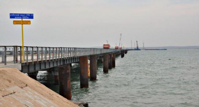 Муждабаев: Керченский мост никогда недостроят