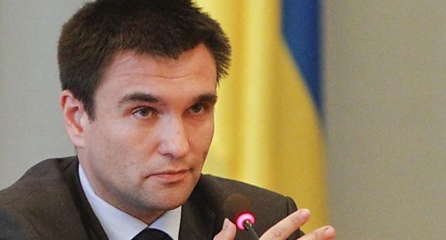 Климкин: Украина пробует давить наЕС для доскорого представления безвиза
