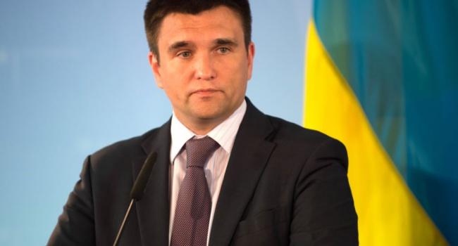 Климкин анонсировал визовый режим сРоссией