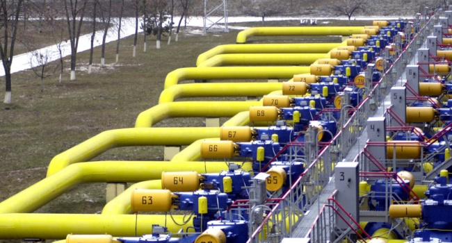 Запасы газа вУкраинском государстве снизились на2,5 млрд кубометров