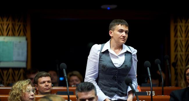 Савченко исключили изделегации Украины вПАСЕ