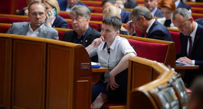 Савченко нерасстроилась исключению изукраинской делегации вПАСЕ