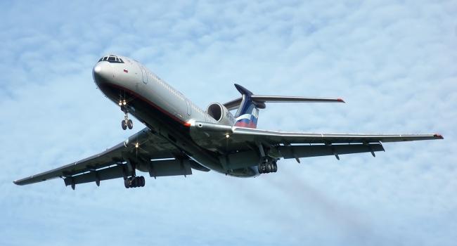 Самолёт Минобороны пропал срадаров после вылета изАдлера вСирию