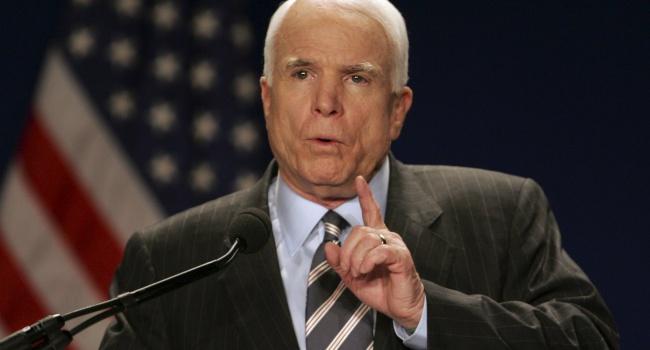 Маккейн потребовал ввести санкции вотношении Российской Федерации из-за выборов вСША