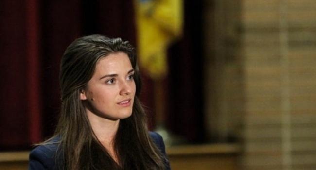 ВКиеве 27-летнюю соратницу Саакашвили подозревали вкоррупции