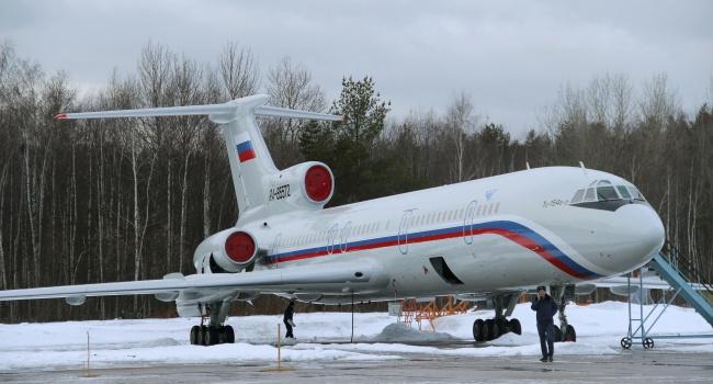Руководитель Минтранса: Ту-154 навсе 100% разрушился отудара обводу идно