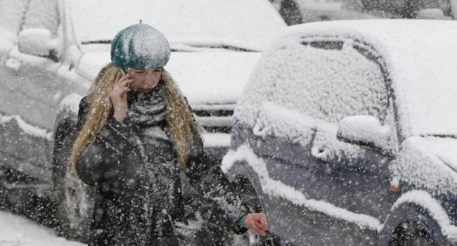 ВКиеве сегодня предполагается мокрый снег