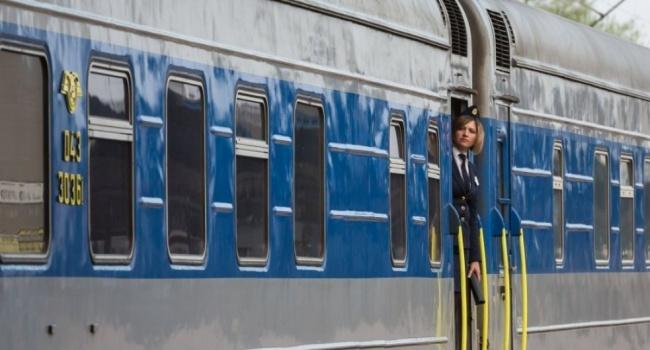Из-за непогоды появились проблемы упоезда Киев-Перемышль— Снежное сумасшествие