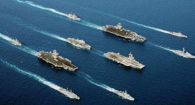 Трамп обещает наибольшое расширение ВМФ современ Холодной войны