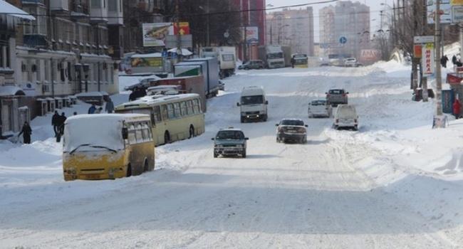Кличко про Киев вснегу: Яночью проверял иувидел проблемы
