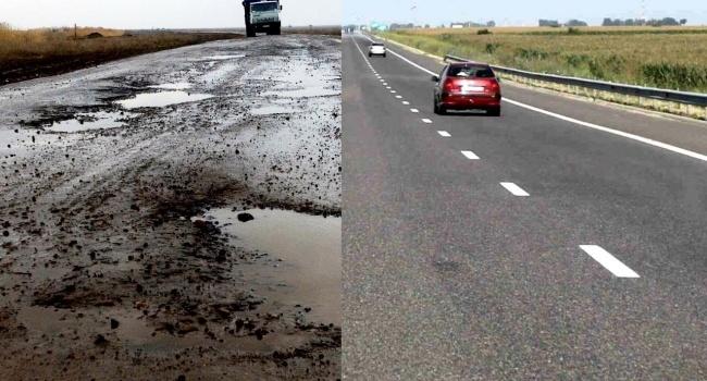 Виновата война? Украина значительно уступает России по качеству дорог