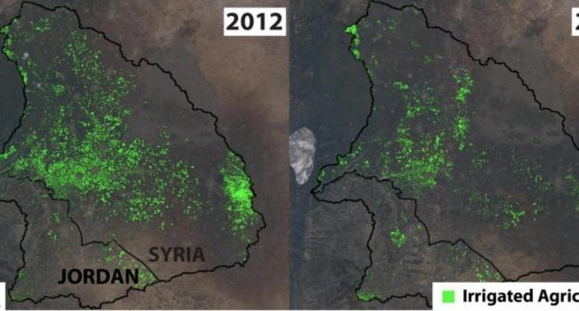 Экологический ущерб от войны в Сирии виден из космоса - ученые