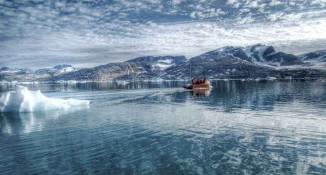 Ученые: ВАрктике из-за изменения климата появился новый остров