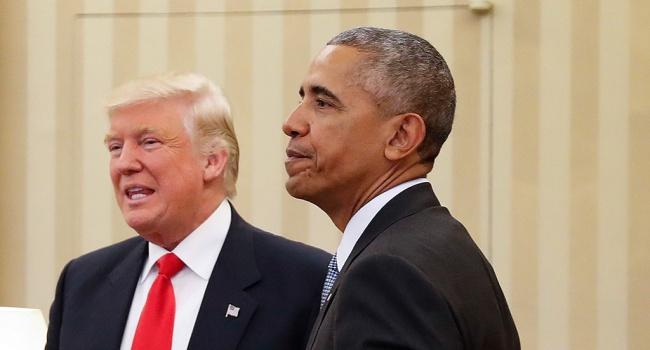 Появились фото, как Обамы встречают Трампа с женой вБелом доме