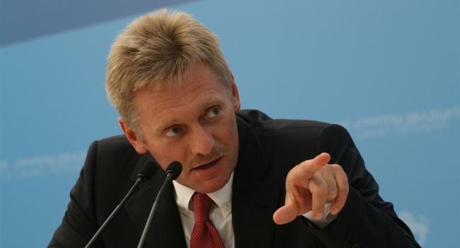 Пресс-секретарь главы российского государства Дмитрий Песков: ВКремле ожидают мирного решения США поУкраине
