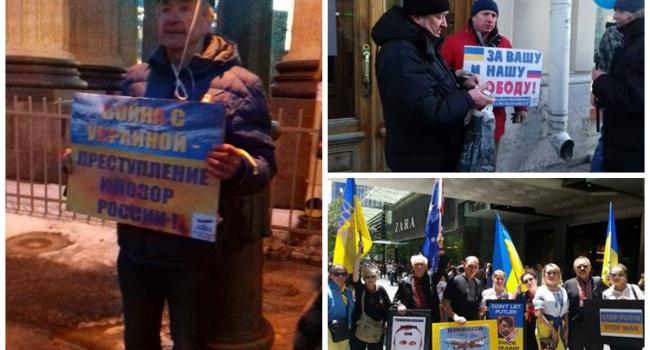 Акции против войны прошли в20 украинских городах