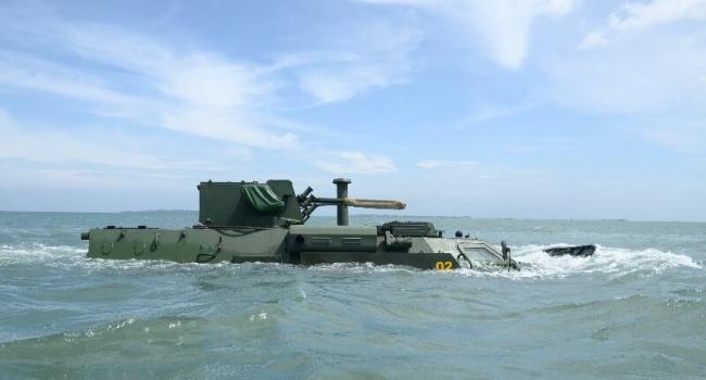 Украинские бронетранспортеры удачно прошли тестирование вИндонезии