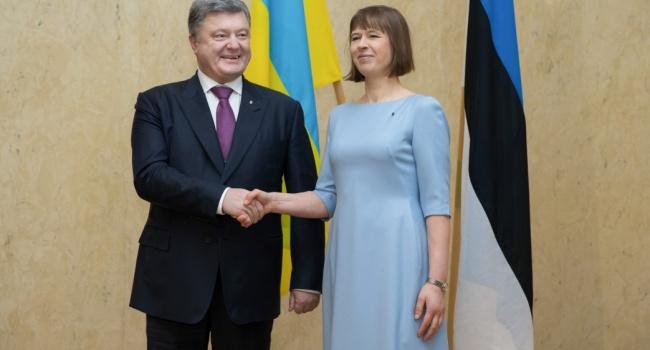 Президент Эстонии: Санкции против РФ нужно продлить