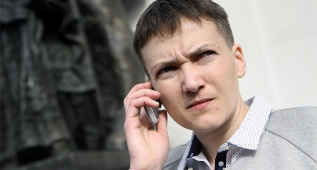 Савченко назвала власти Украины противником народа номер два