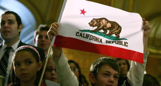 ВКалифорнии начался сбор подписей завыход штата изсостава США