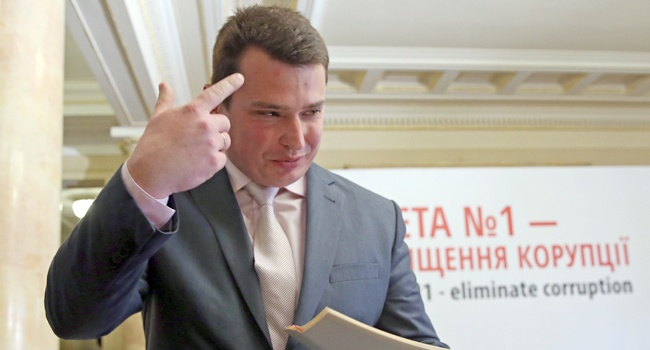 Главный антикоррупционер Украины купил авто за 800 тысяч