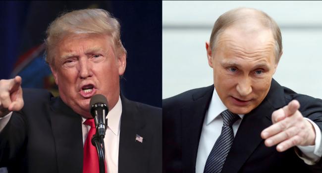 Путин иТрамп начали беседу потелефону