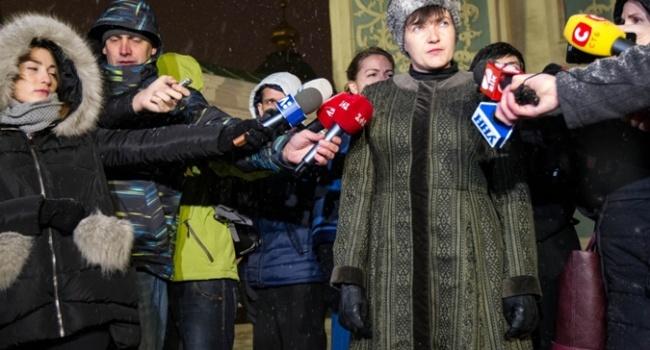 Олешко: для украинцев враги народа – это «ДНР» и «ЛНР», для Савченко – все наоборот