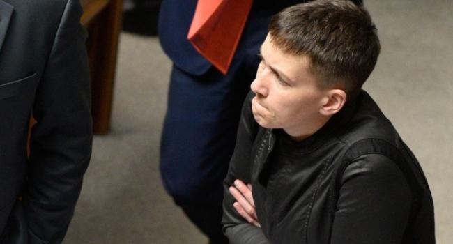 Надежда Савченко заснула впроцессе совещания Верховной рады