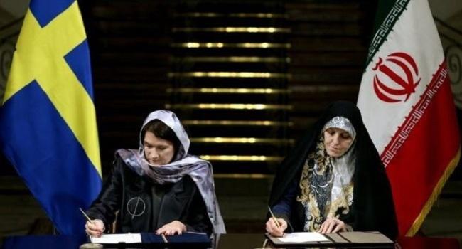 Феминистическое руководство Швеции разгневало защитниц прав женщин визитом вхиджабах вИран