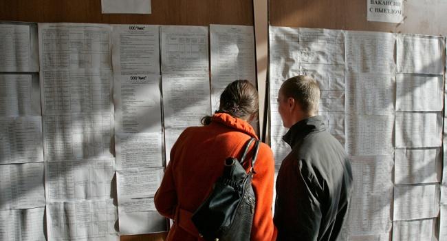 ВУкраинском государстве замесяц число нигде неработающих выросло на40 тыс.