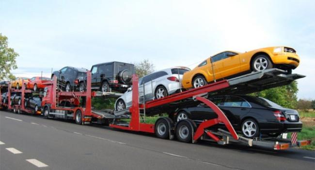 Загод в Украинское государство ввезли импортных авто практически на2 млрд