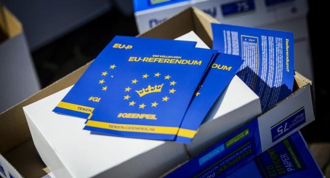 Нижняя палата парламента Нидерландов одобрила ассоциацию Украины и ЕС