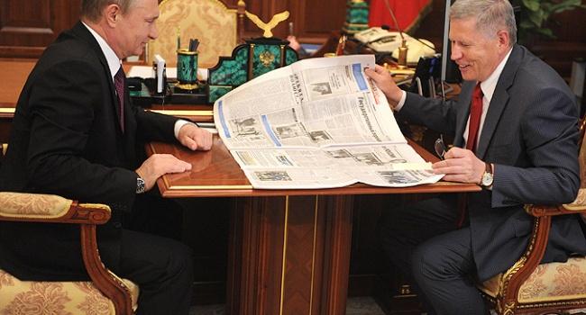 """""""Уб'ю, стара!"""": Про що пише улюблена газета Путіна"""