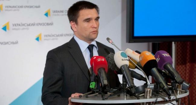 Клімкін просить країни Заходу надати Україні летальну зброю