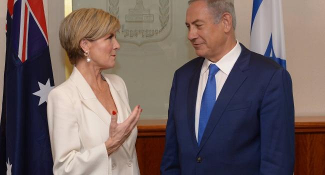 Нетаньяху попытался объяснить главе Форин-офиса Австралии, что означает понятие «два государства для двух народов»
