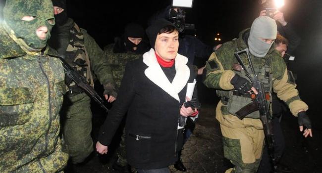 Журналист: Савченко, слово под копирку Кремля, заявила, что наши пленные в «ДНР» и «ЛНР», как на курорте