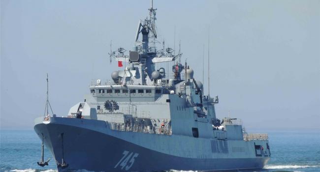 Росія відправила до берегів Сирії свій новий смертоносний фрегат